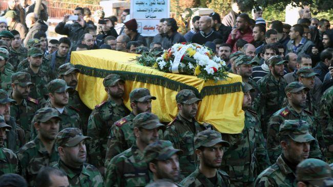 Hezbollah movement commander buried in Lebanon