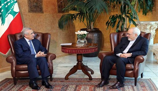Photo of Iran's FM visits Lebanese President, urges regional stability