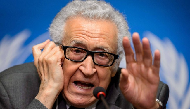Syria envoys, opposition agree for direct talks: Brahimi