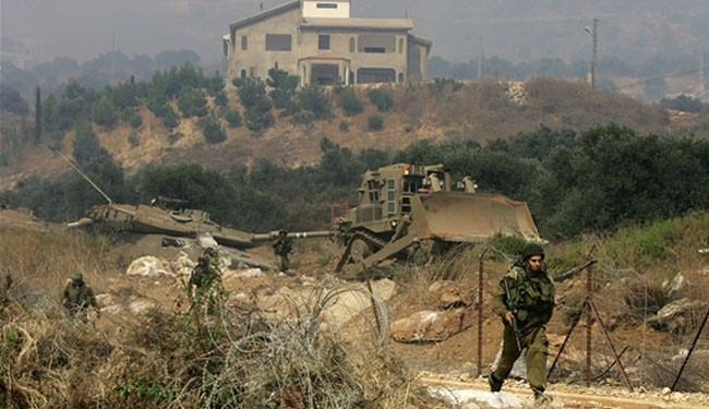 Photo of zionist forces cross technical fence in south Lebanon