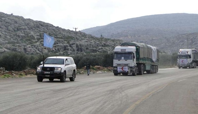Syria militants impeding aid delivery: WFP