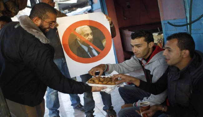 """In pictures: Palestinians rejoice world without """"the butcher"""""""