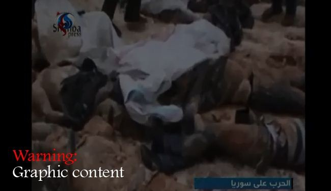 Mass grave found in Syria's Aleppo: Video
