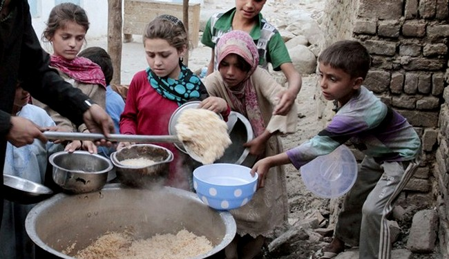 1 in 2 Afghan children suffer lifetime damage for food shortage