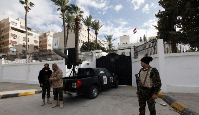 Abducted Egyptian diplomats freed in Libya