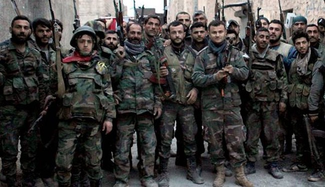 Syria army kills many foreign militants, captures weapons