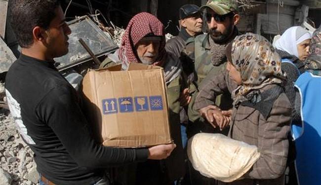 Aid supplies finally enter Yarmouk camp of Damascus