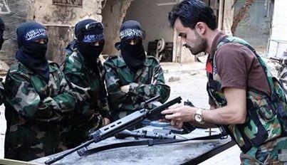 'Suicide terrorism' in Syria threatening Western states