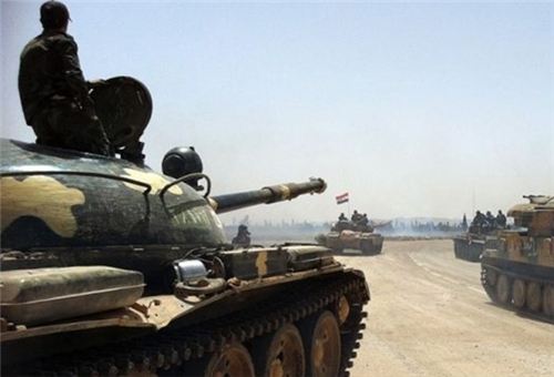Photo of Syrian Army Hits Militants' Positions in Damascus Countryside