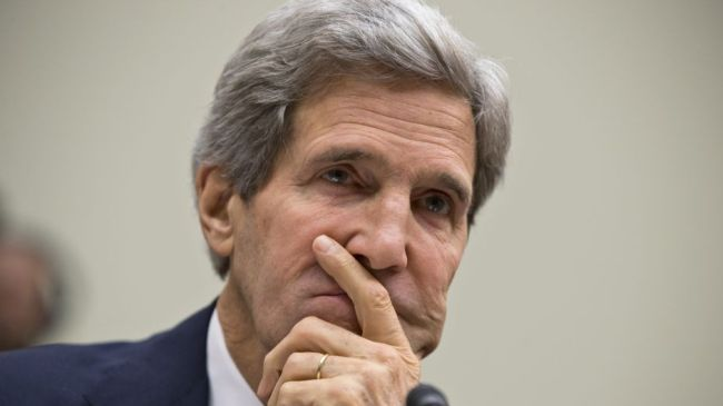Photo of Kerry labeled 'anti Semite' by Israel