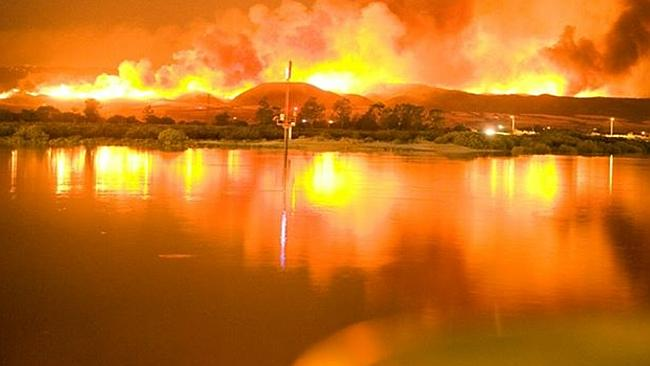 Photo of Forest fires rage in Australia's Victoria State