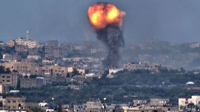 Photo of zionist israel drones hit Gaza Strip, two injured