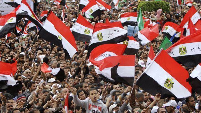 Photo of Egyptians to mark Mubarak ouster anniversary
