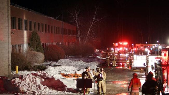 Photo of Explosion at ball-bearing plant in US leaves 15 injured
