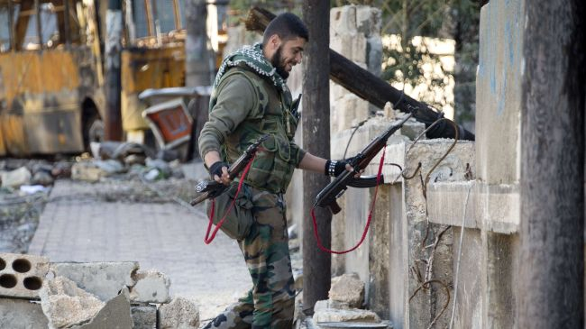 Photo of Syrian troops wipe out large numbers of militants