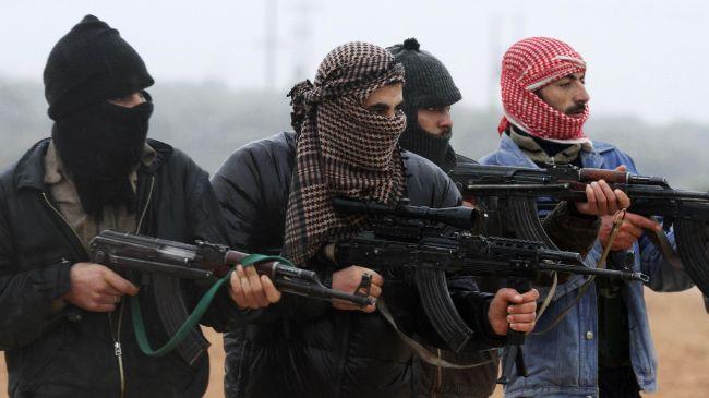 Photo of Takfiri terrorists strangulate Syrian girl in public