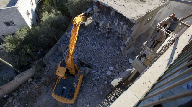 Photo of Zionist Israel rapped for demolishing homes