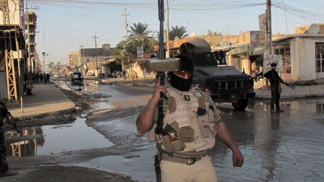 Photo of Iraqi troops make advances in operations against militants in Anbar