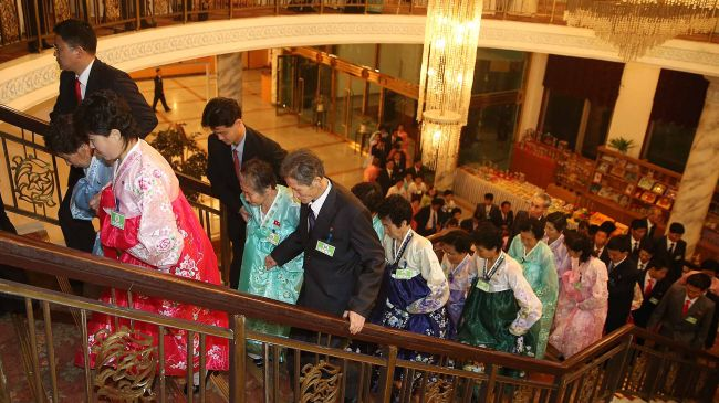 Photo of Divided North, South Korean families meet: Report