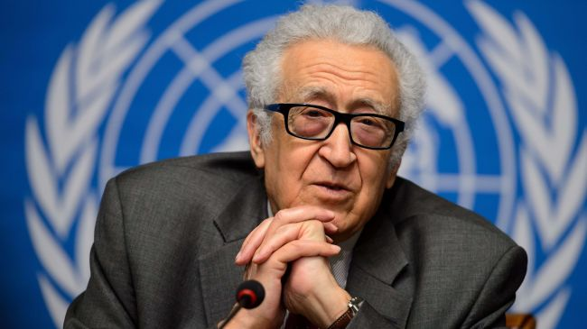 Photo of Brahimi to report to UNSC next month: Spokesman