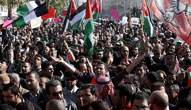 Jordanians hold anti-US demonstration