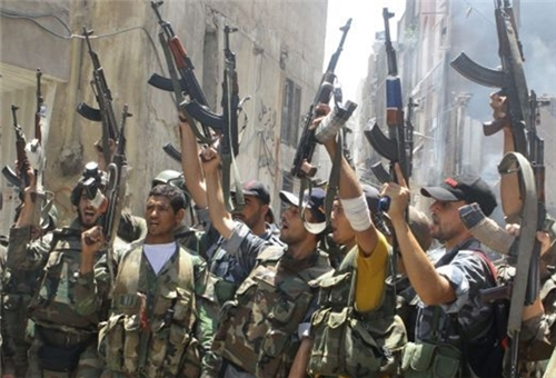 Syrian Army Regains Control of Strategic Town in Damascus Countryside
