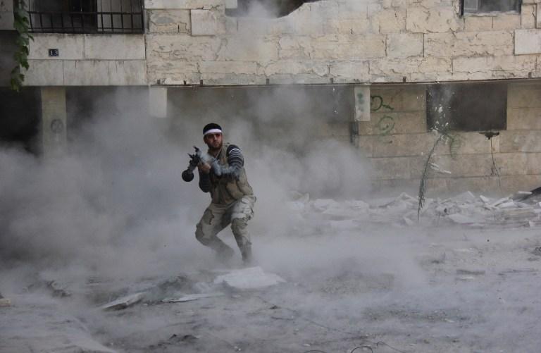 SYRIA-CONFLICT-REBELS-ALEPPO