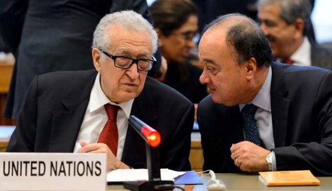 Brahimi's deputy leaves Syria talks team: sources
