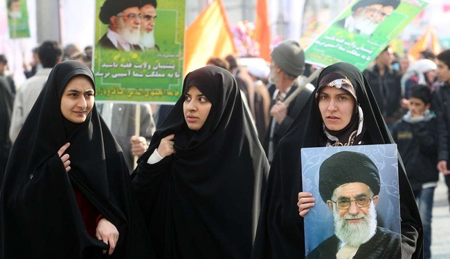 Iranians mark Islamic Revolution anniversary: Photos