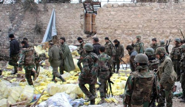 Syrian troops wipe out large numbers of militants