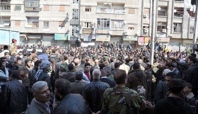 Militants in Rif Dimashq surrender to Syrian army: Photos
