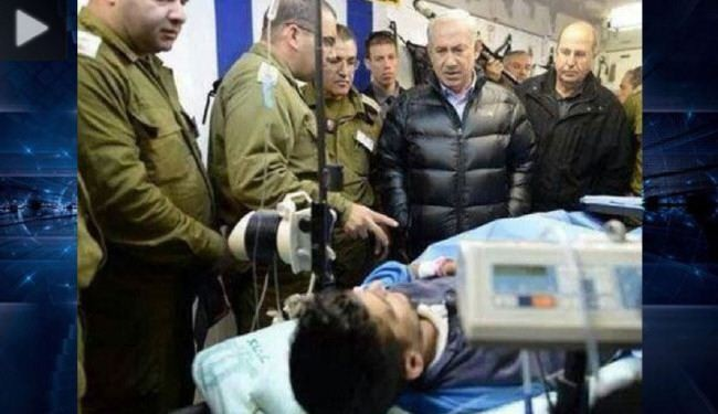 Photo of Israeli PM visits militants wounded in Syria war