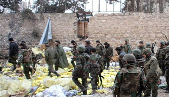 Syrian troops make advances in key Aleppo district