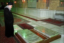 Photo of Photos- Leader of Islamic Ummah Imam Khamenei visits Imam Khomeini (AS) mausoleum
