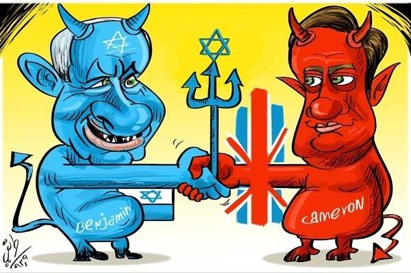 Photo of zionist servant Cameron to fight attempts to boycott Israel despite Britons