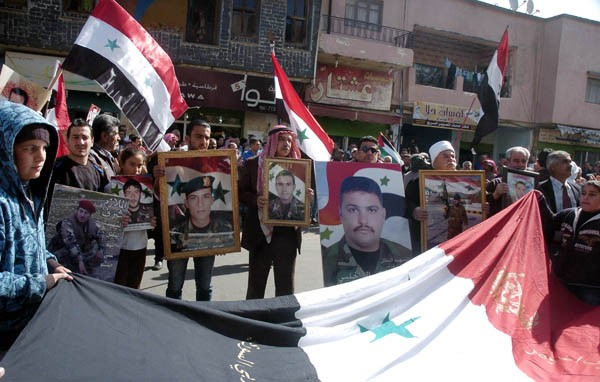 Photo of Photos- Rally and march in support of Syrian Army organized in Sweida and Lattakia