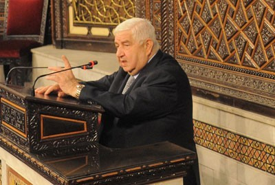 Photo of Al-Moallem: What Syria's delegation to Geneva did was part of its national duty
