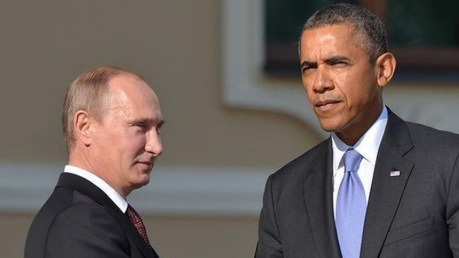 Photo of Obama calls on Putin to pull Russian troops from restive Ukraine region