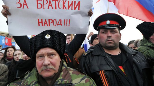 Photo of Russians hold rallies in support of Crimean people