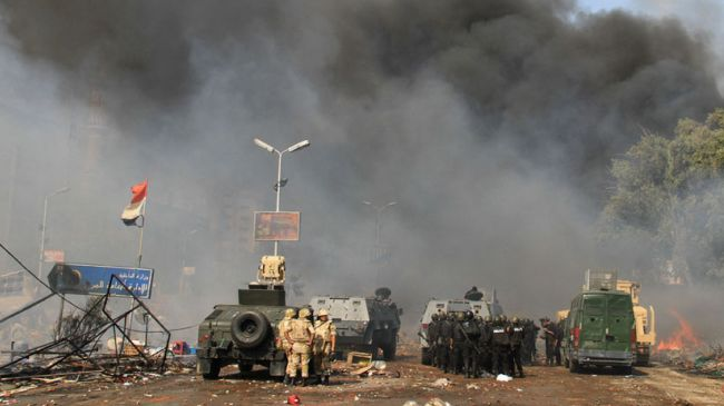 Photo of Egypt police blamed for last August sit-in breakup