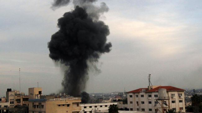 Photo of Slaughterer israel launches airstrike on southern Gaza