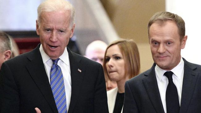 Photo of US Vice President Biden gaffes in Poland