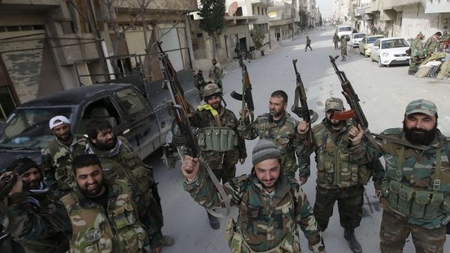 Photo of Syria army chases terrorits out of Ras al-Ain in Qalamoun