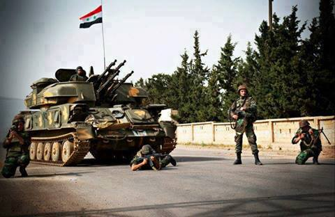 Photo of Syrian Army arrested wanted gunmen in neighborhood of Al Mrabet in the city of Hama