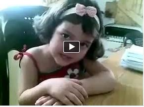 Photo of Video- A 3 year old Syrian girl knows all the capitals of the world, but when asked about Israel's capital she states there is no Israeli capital