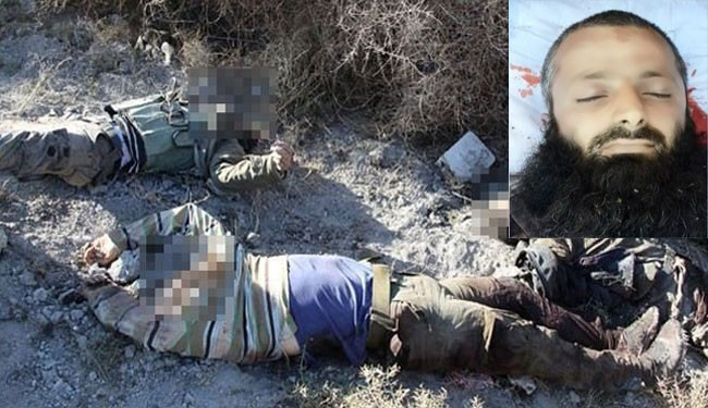 Photo of ISIL commander killed in Syria militants' infighting