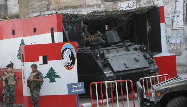 Photo of Lebanese army seizes bombs, arms in north