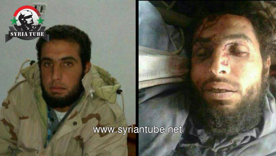 Photo of Lebanese terrorist Muthana Al-Assad Abualaaina killed by the Syrian army on the Qalamoun front