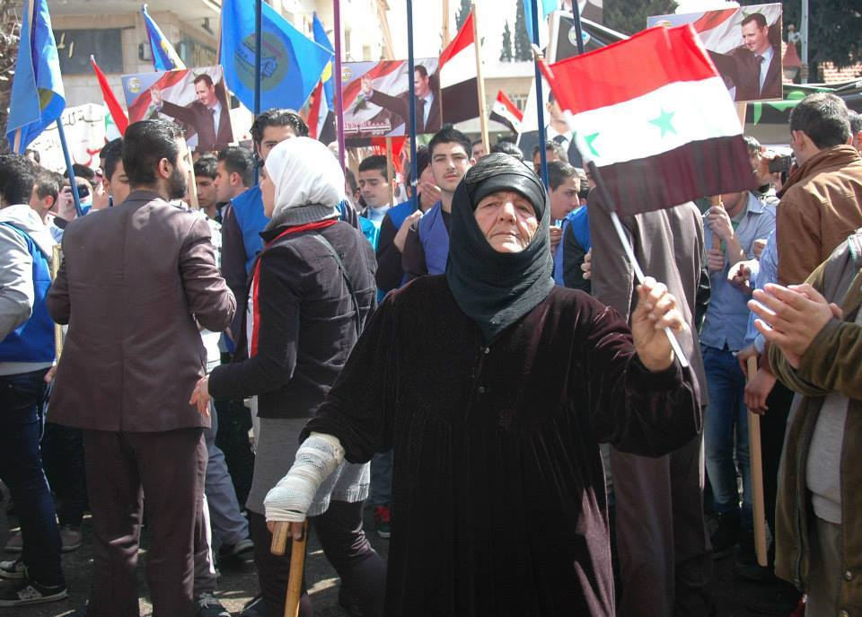 Rally in Homs in support of the Syrian Arab Army3