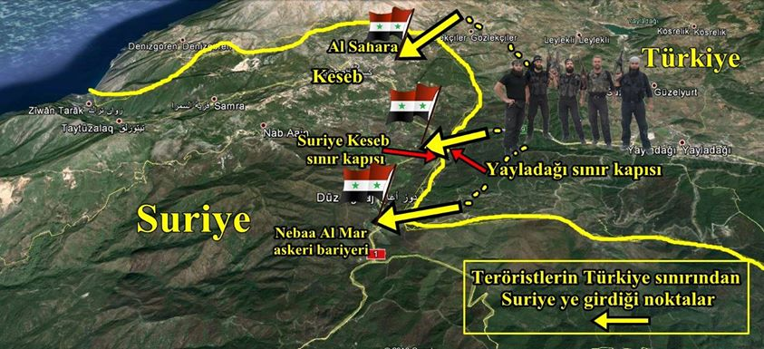 Staff At Turkish Crossing Fired at Syrian Territories